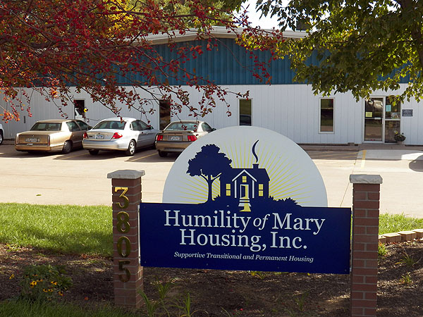 Humility of Mary Housing home office