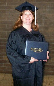 Deana, graduating