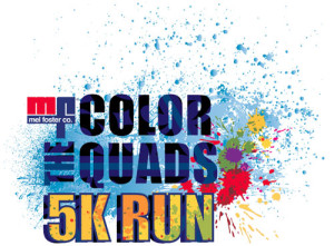 Color the Quads logo