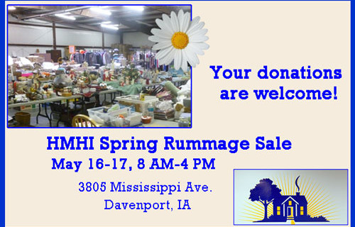 Donations welcome now for HMHI's Spring Semi-Annual Benefit Sale