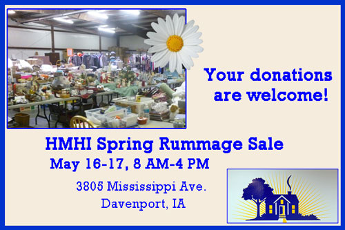 donate items to HMHI sale