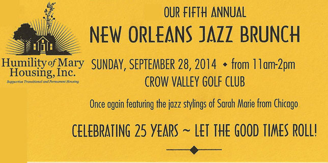 2014 New Orleans Jazz Brunch Benefit Date Announced