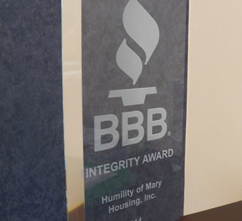 HMHI earns 2014 Better Business Bureau Integrity Award