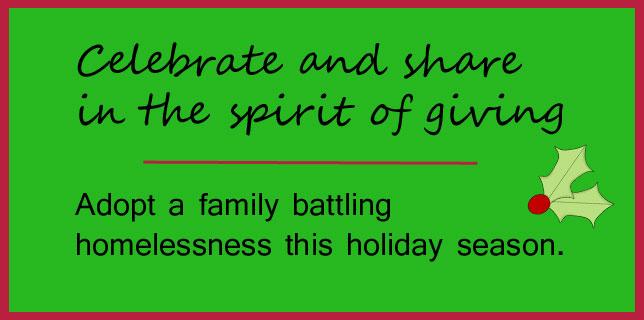 adopt family Christmas