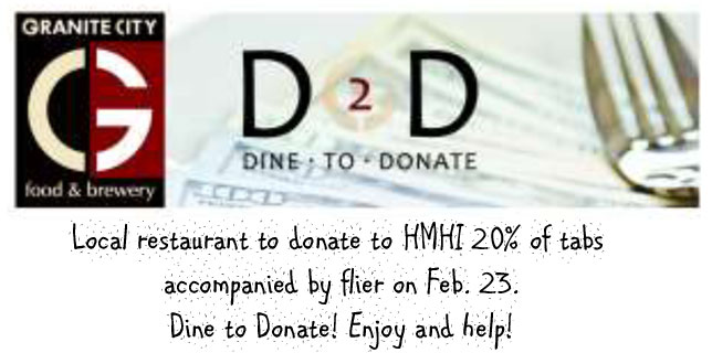 dine to donate at Granite City