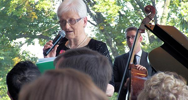 Jazz Brunch 2015 Honors Sister Mary Ann Vogel, CHM