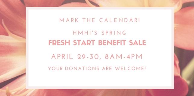 spring fresh start sale