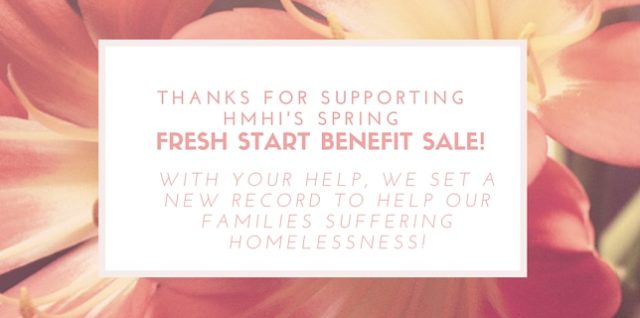 Thousands attend Fresh Start Sale,  Help local families experiencing homelessness
