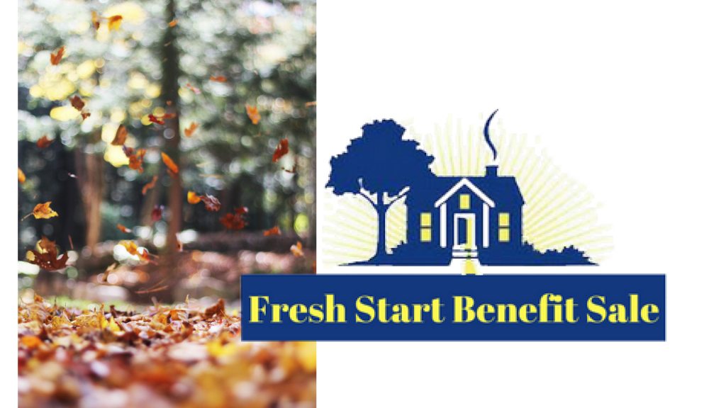 Fall Fresh Start Sale