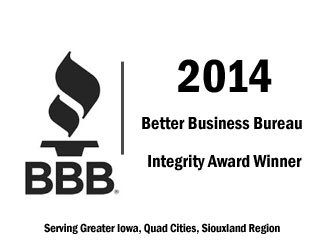 Better Business Bureau award 2014