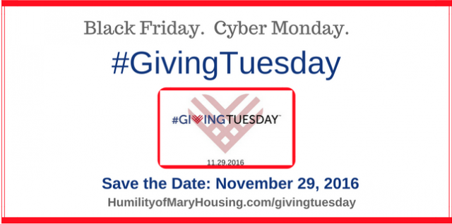 #GivingTuesday 2016–You can help!