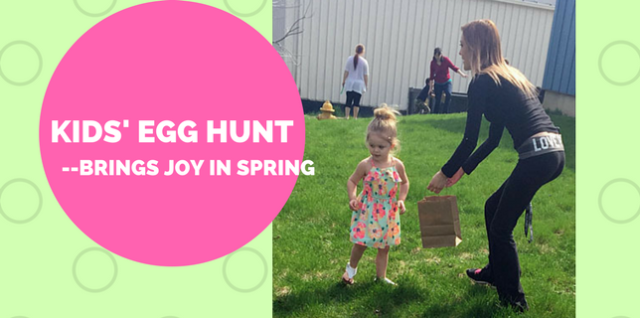 Easter Egg Hunt Sparks Spring Smiles