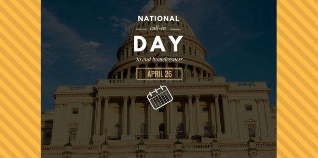 April 26 national call in day