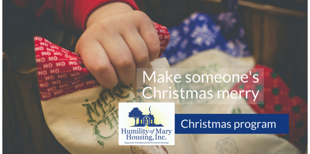 Christmas giving opportunities brighten holidays for families, people without homes
