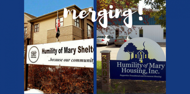 Humility of Mary Housing to Merge with Humility of Mary Shelter